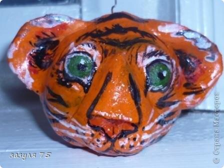Поделка  в школу на год тигра.