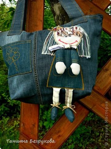 """Сумка """"джинса"""" фото 1"""