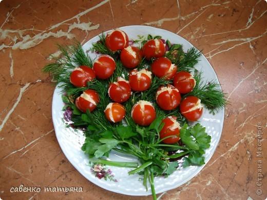 ко дню рождения сына решила подойти творчески. салаты все примитивные, но симпатичные.  фото 5