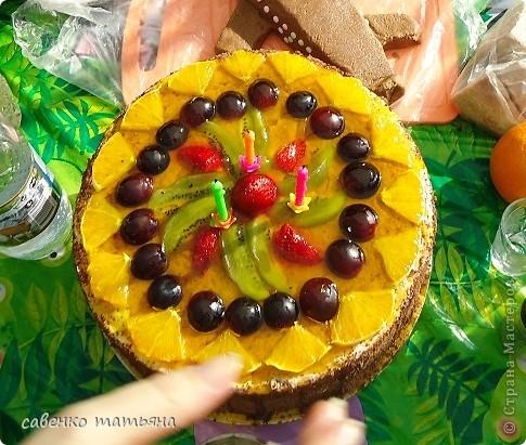 ко дню рождения сына решила подойти творчески. салаты все примитивные, но симпатичные.  фото 6