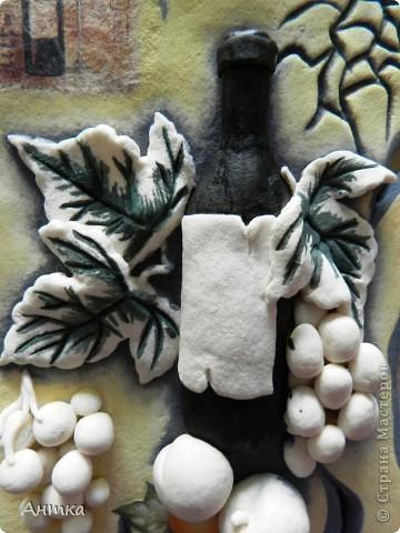 Картина панно рисунок Мастер-класс День рождения Декупаж Лепка Роспись Расколотое панно для кухни МК Тесто соленое фото 28