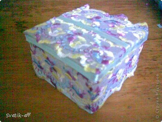 Готовая коробочка. фото 1