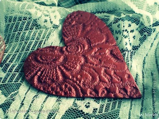 Вот такие вот магнитики были сделаны ко дню Влюбленных! фото 3