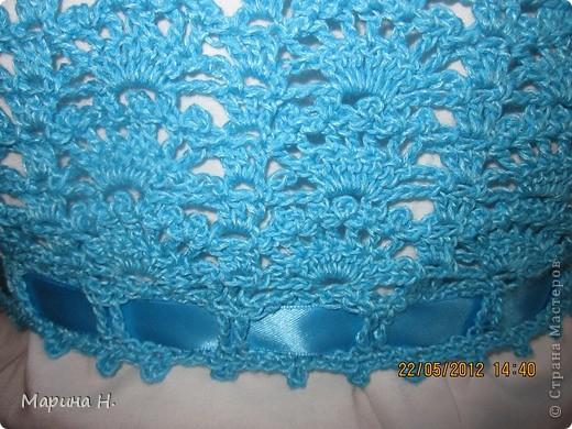 Вот такое болеро я связала для старшей дочки. За основу брала описание здесь - http://www.vjazali.ru/crochet/malenkoe-bolero-vyazanoe-kryuchkom-229.html . Правда, по ходу пришлось слегка импровизировать. фото 4