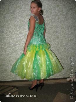 платья из пакетов для мусора фото 2