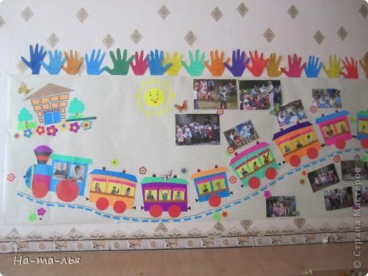 Стена при в ходе в д/сад. фото 3