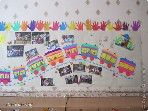 Стена при в ходе в д/сад. фото 4
