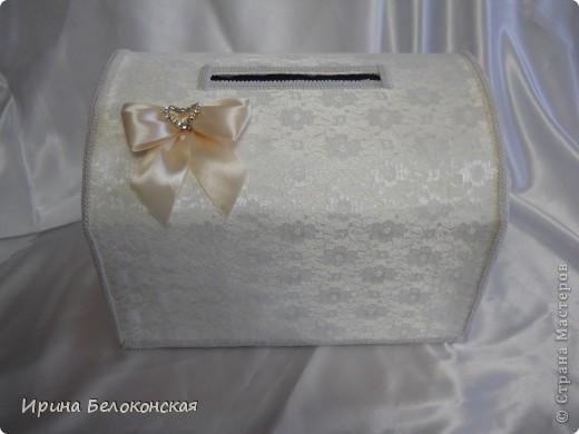 Здравствуйте, дорогие Мастера и Мастерицы! Вот мой новый свадебный набор. Показали фото из нета и попросили сделать так же. фото 4