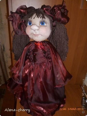 Кукла  Виолетта фото 1