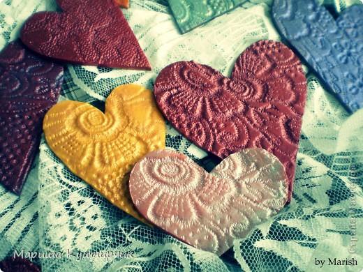 Вот такие вот магнитики были сделаны ко дню Влюбленных! фото 1