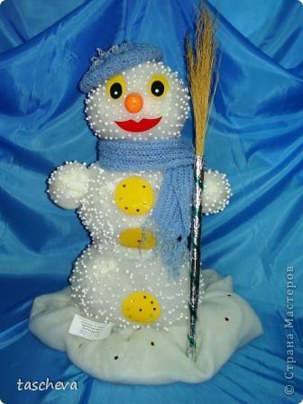 Снеговик Стефан.