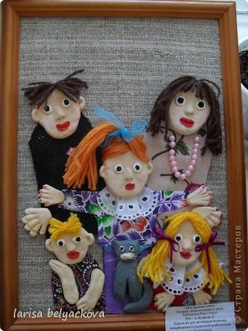 Подглядела эту дружную семью у кого -то в СМ, благодарю Вас. фото 1