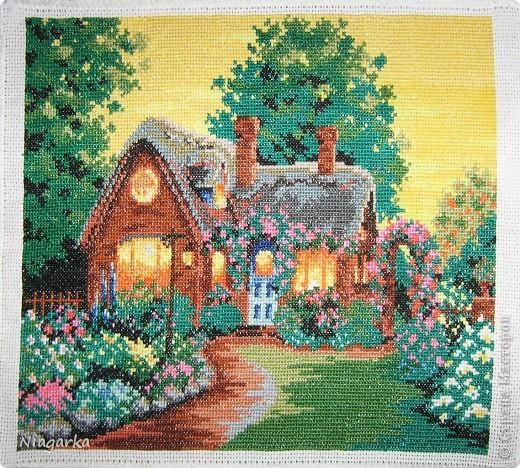 Картина панно рисунок вышивка крестом