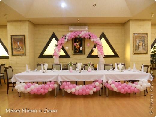 Вот так мы украсили свадебный зал. фото 1