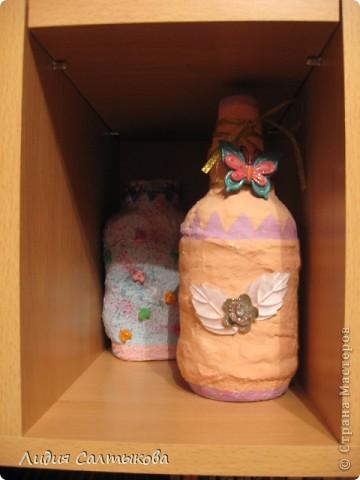 моя доча Анюта делает так: берет любые красивые бутылочки и баночки стеклянные. фото 5