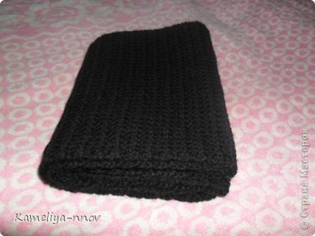 Теплый зимний шарф фото 2