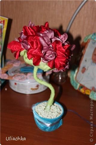 Добрый вечер а вот мое долгожданное дерево из ткани, подаренное родителям на годовщину свадьбы ))) фото 2