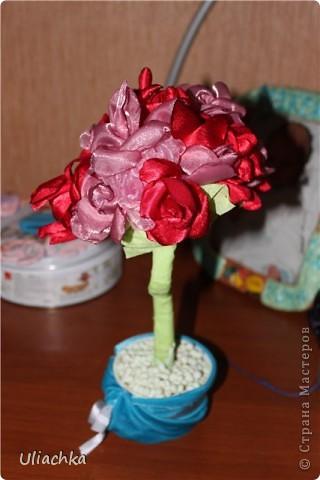Добрый вечер а вот мое долгожданное дерево из ткани, подаренное родителям на годовщину свадьбы ))) фото 1