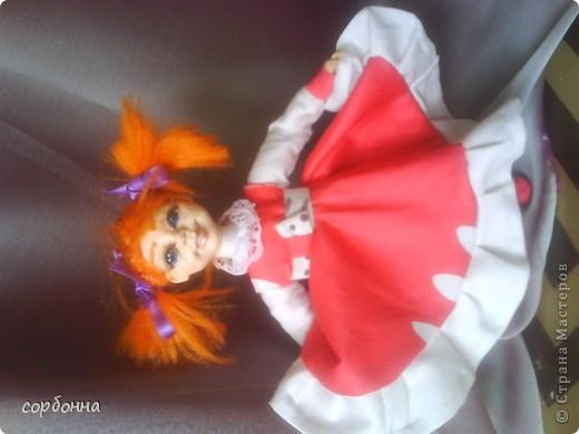 мои творения кукла Майя .лепка. холодный фарфор фото 3