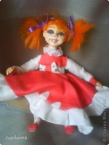 мои творения кукла Майя .лепка. холодный фарфор фото 1