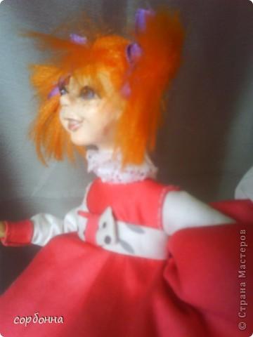 мои творения кукла Майя .лепка. холодный фарфор фото 2