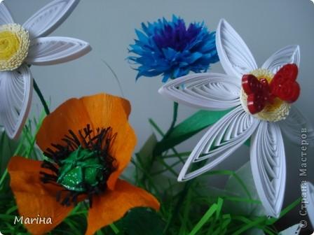 Всем здравствуйте! Очень мне понравились заборчики с цветами у  Витапро http://stranamasterov.ru/user/98067. Подвернулся и повод (день рождения у свекрови). Вот что из этого получилось. фото 4