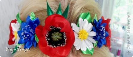 Резиночки для волос и ободок фото 6