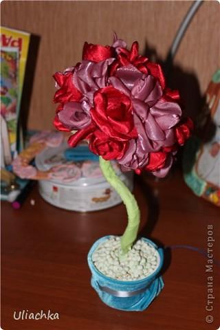 Добрый вечер а вот мое долгожданное дерево из ткани, подаренное родителям на годовщину свадьбы ))) фото 3