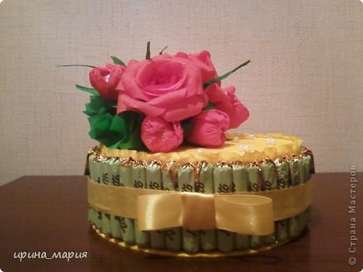 конфетный торт фото 1