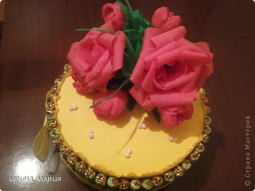 конфетный торт фото 2