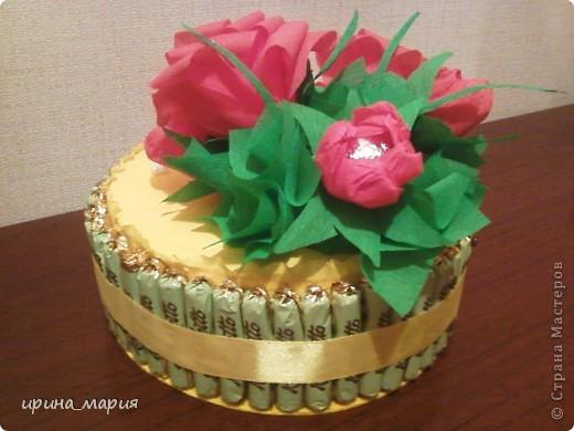 конфетный торт фото 3