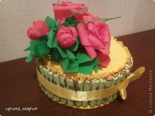 конфетный торт фото 4