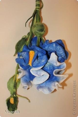 """Моя гордость:), сумка выполненная на МК Питерского дизайнера, мастера своего дела, и просто замечательного человека Оксаны Калининой. Валяние, сумка """"Ирис""""."""