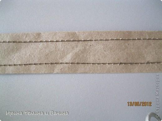 корзина из обёрточной бумаги фото 2