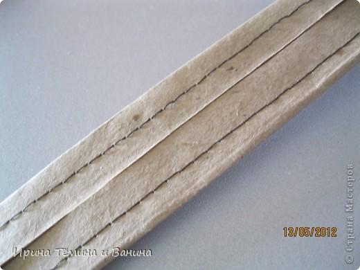 корзина из обёрточной бумаги фото 3