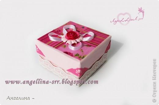 коробочка для украшений фото 1