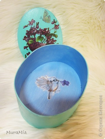 Фиалковая нежность привлекает бабочек и драгоцености =) фото 2