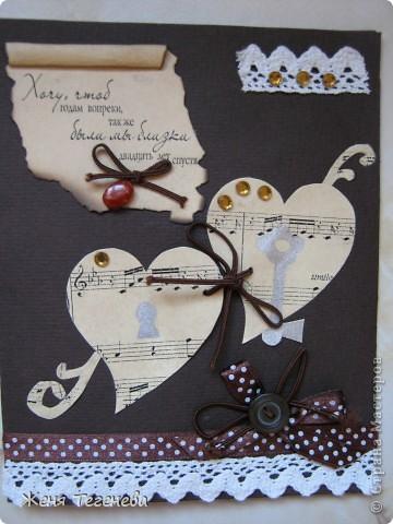 Эту открыточку меня попросили сделать для пятилетней девочки. Детские открыточки я еще не делала, но надеюсь, маленькой принцессе понравится. фото 7