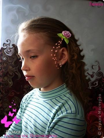 "Невидимка ""РОЗОЧКА"" фото 3"