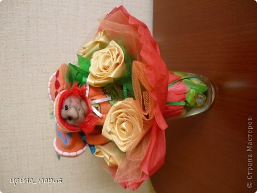 конфетный букет фото 3