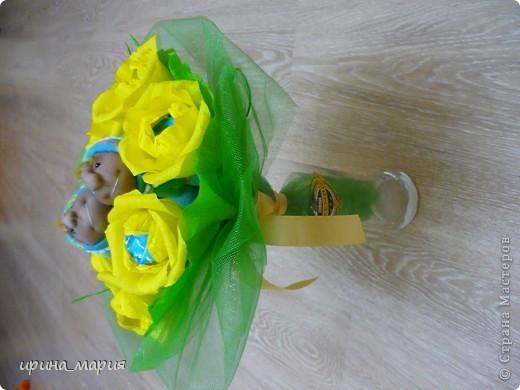 конфетный букет фото 4