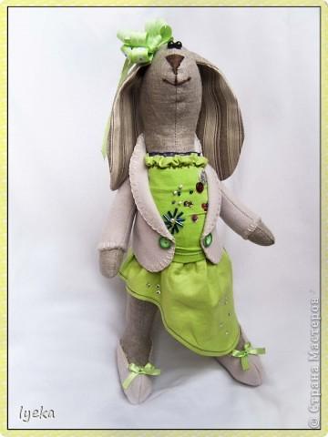 Модная Тильда-зайка