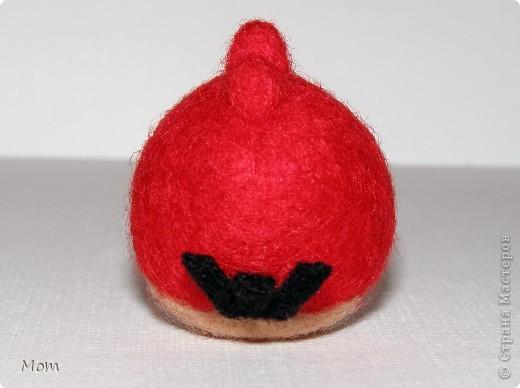 Красная птичка Angry Birds из известной видеоигры. А злые в этой игре птички потому, что свинки воруют у них яйца и делают яичницу- глазунью. Я не играю в видеоигры, а вот дети мои от них в восторге.  фото 5