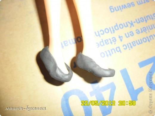 Здравствуйте дети и их родители в этом блоге я хочу рассказать как делать тапочки для куклы барби.Итак приступим... фото 5