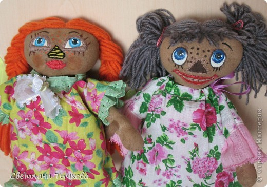 Куколки по мотивам Реггеди Энн. фото 8
