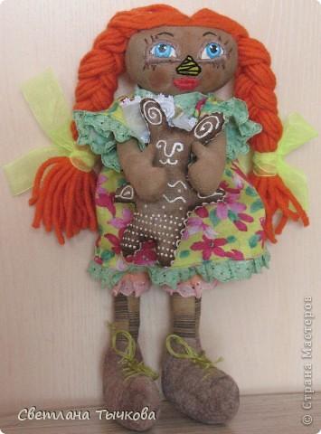 Куколки по мотивам Реггеди Энн. фото 5