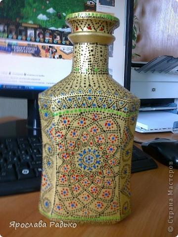 Колекция разностильных бутылок 1-я партия фото 1