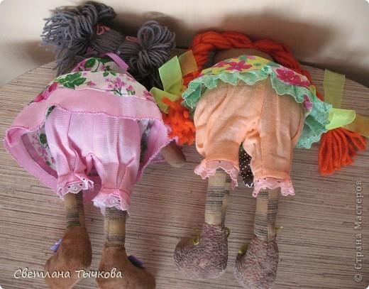 Куколки по мотивам Реггеди Энн. фото 7