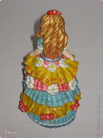 Слепила мою соляную куклу уже давно ))) фото 3