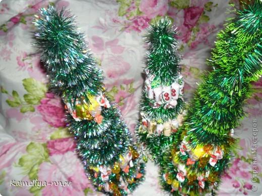 Конфетные елки